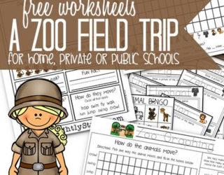 Zoo Field Trip Worksheet