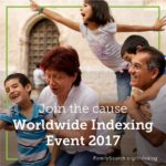 FamilySearch Indexing Event
