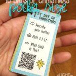 #LighttheWorld Christmas Advent Calendar Pocket Size