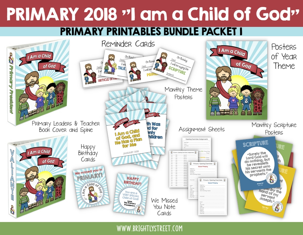 I am a Child of God Bundle 1