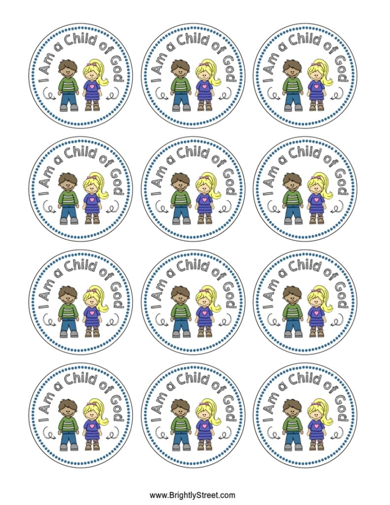 I am a Child of God 2018 Stickers