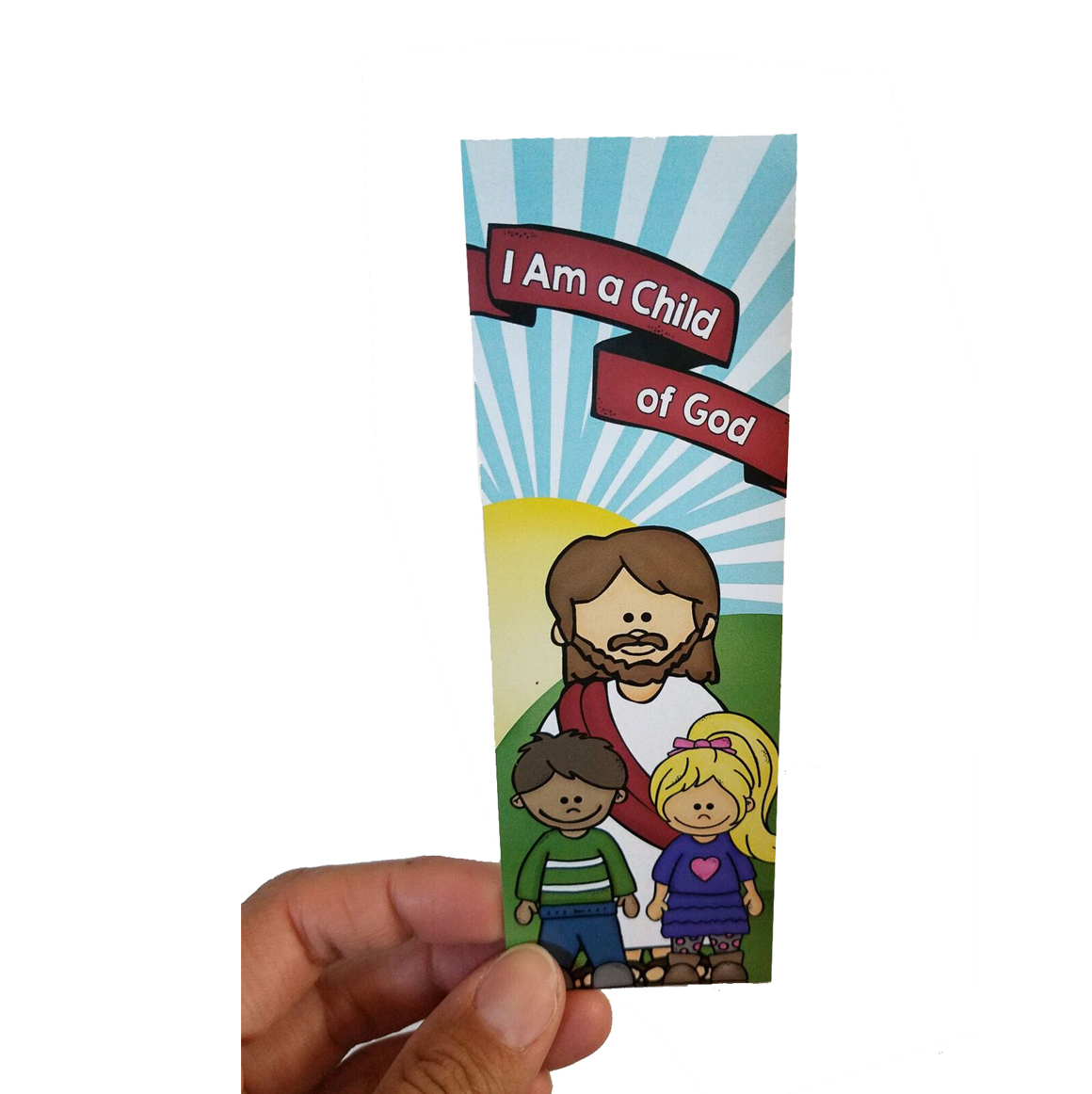 I am a Child of God Bookmark frontside
