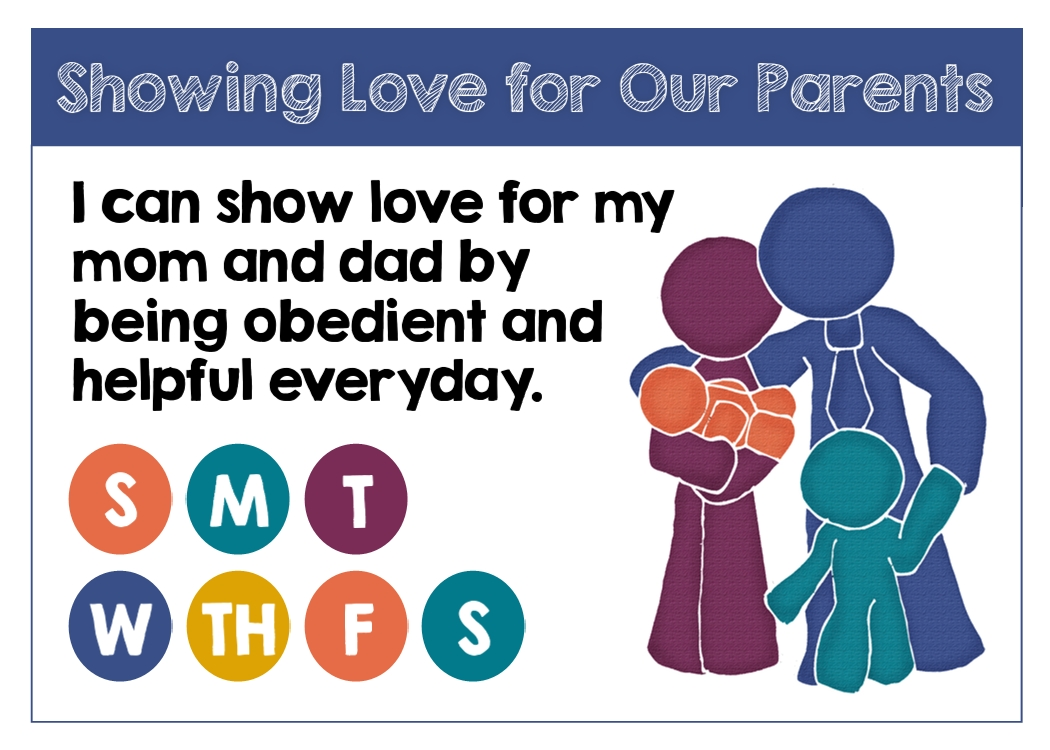 Primary 3 Lesson 39: Showing Love for Our Parents