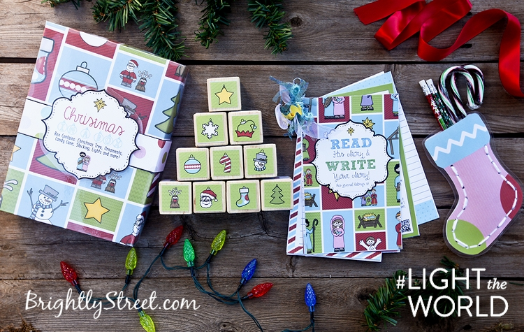 Brightly Street Christmas-in-a-Box Sample Pieces #LIGHTtheWORLD