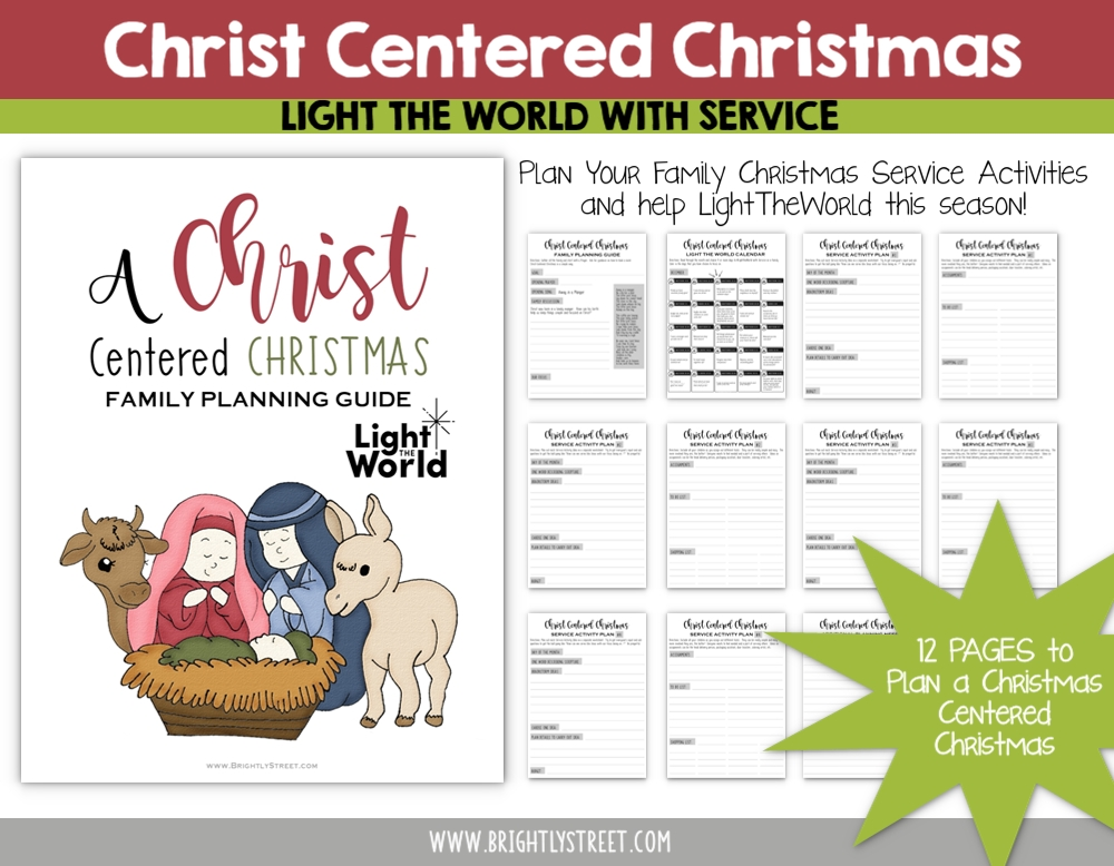 #lighttheworld family planning guide for christmas