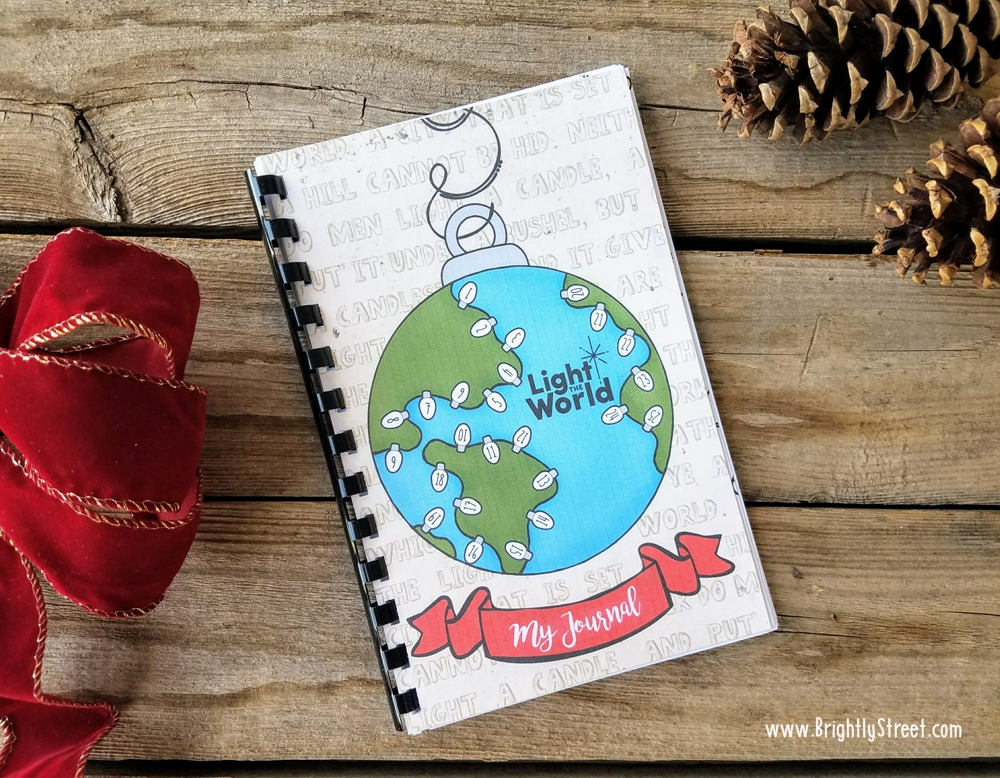 #LIGHTtheWORLD Reflection Journal Free Printable Image 1