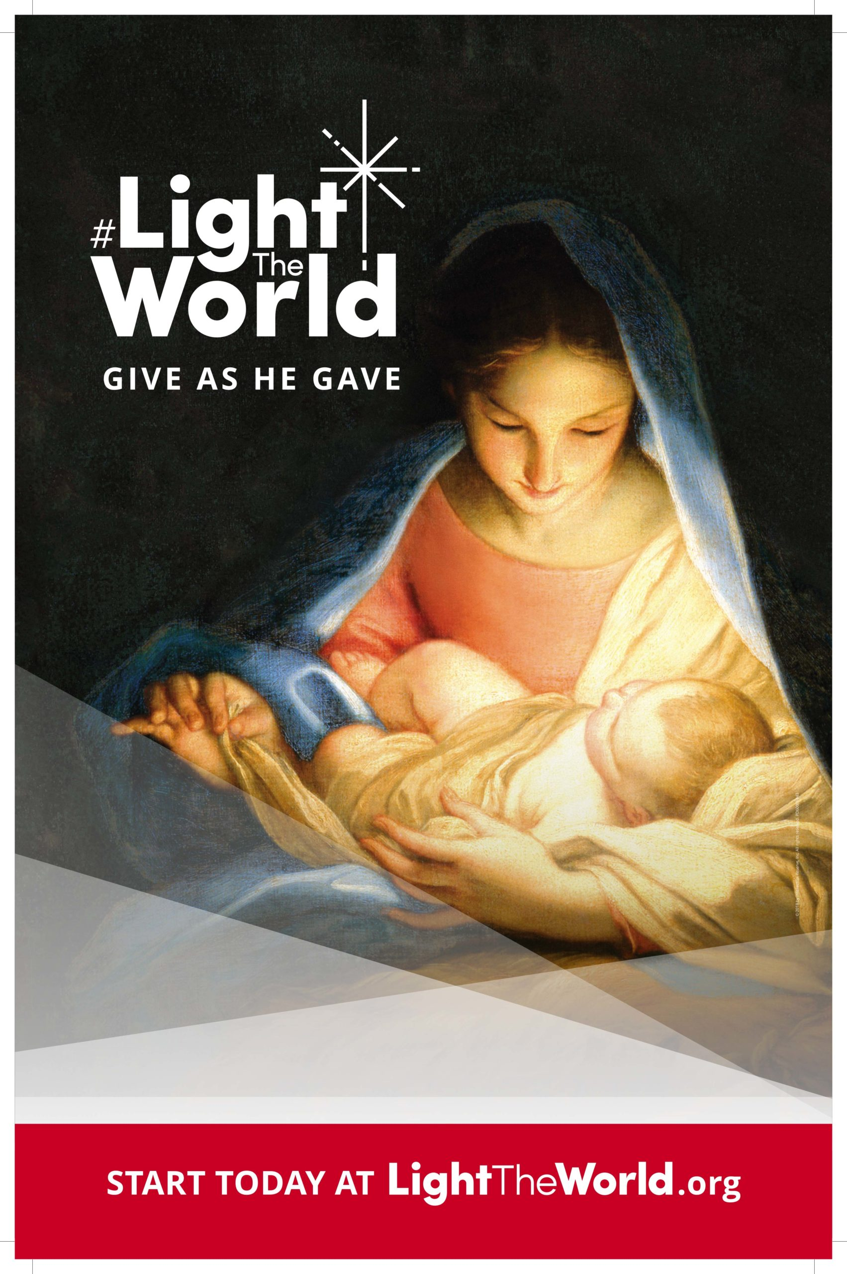 LIGHTtheWORLD this Christmas with Weekly Service Ideas