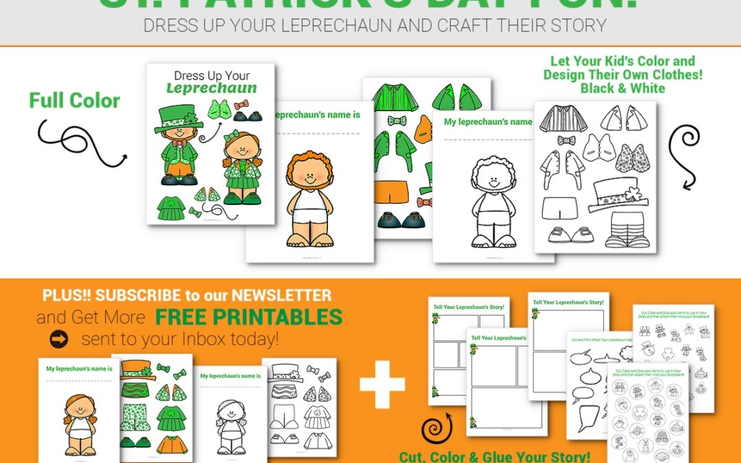 St. Patrick's Day FREE PRINTABLE to keep your kid's happy